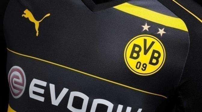 Le BVB présente son nouveau maillot extérieur