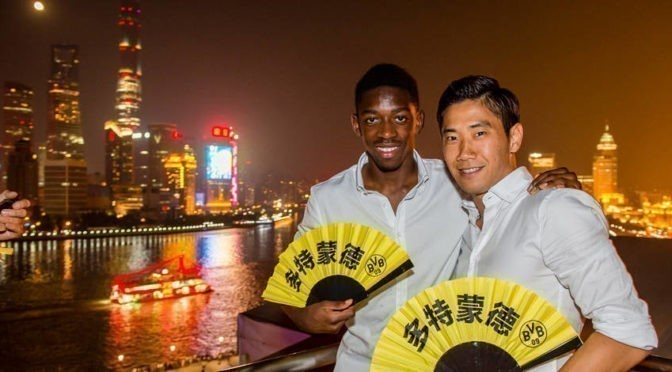 Photos : Le week-end du BVB à Shanghai