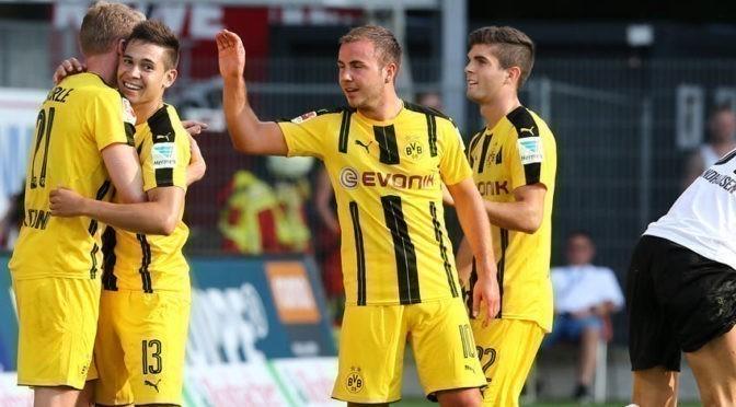 Les buts de Sandhausen / BVB en vidéo